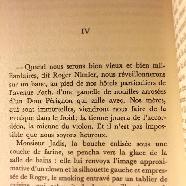 Antoine Blondin Monsieur Jadis ou l'école du soir