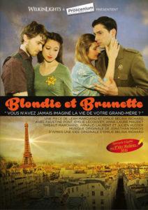 Blondie et Brunette au théâtre Le Proscenium