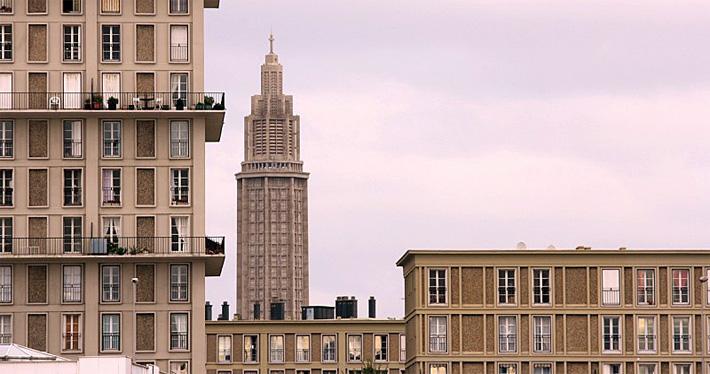 Reconstruction de la ville du Havre © Patrice Talvast Le Havre Historique Contemporain