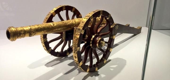 Modèle d'artillerie offert par le parlement de Franche Comté à Louis XIV