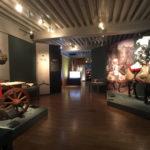 Scénographie de l'exposition Chevaliers et Bombardes, au musée de l'Armée