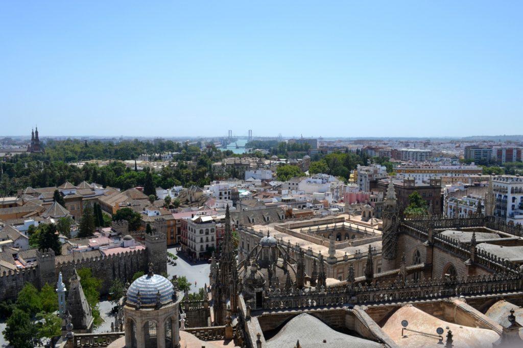 Vue de Séville depuis la Giralda