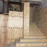 Opéra Comique - Protection des escaliers