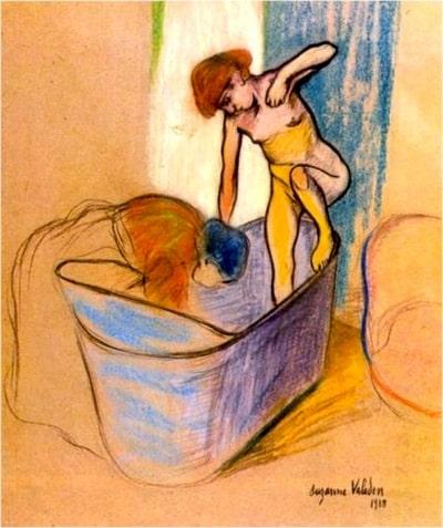 Suzanne Valadon, Le bain
