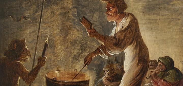 David Teniers II (entourage). Scène de sorcellerie