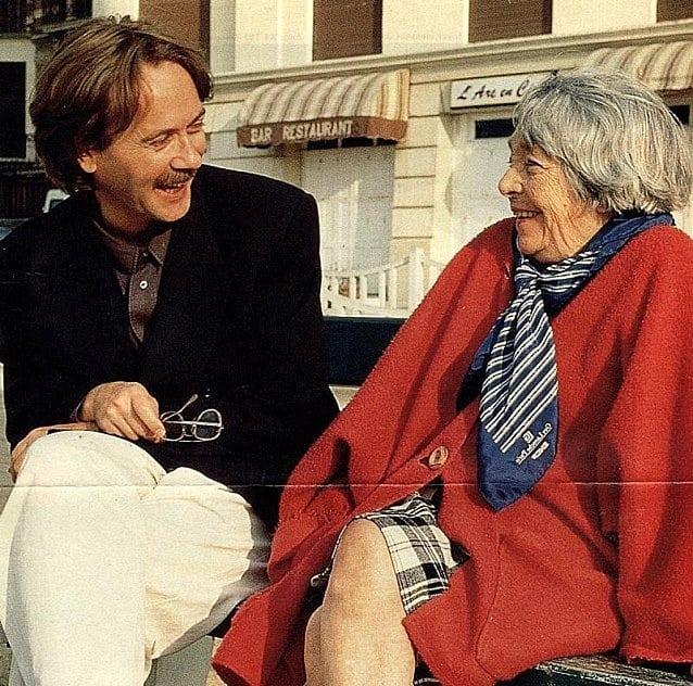 Marguerite Duras et Yann Andréa