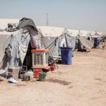 Habiter le campement - Camps de réfugiés à Khazar en Irak
