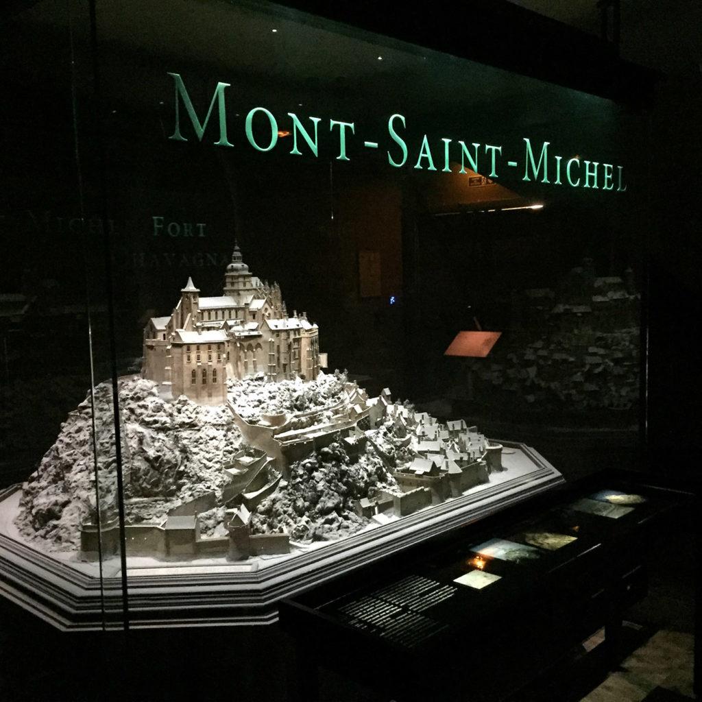 Plan Relief Mont Saint Michel