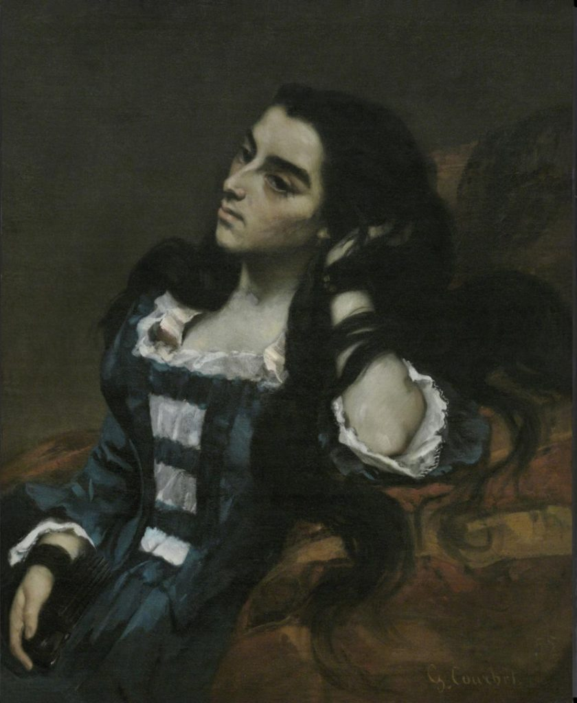 Femme espagnole - Courbet Philadelphia Museum of Art