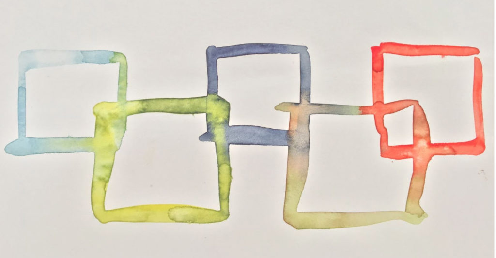 Fabrice Hyber, Encore un effort, dessin préparatoire, 2016. Courtesy de l'artiste.