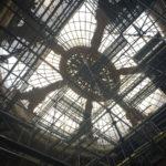 Sous la verrière de la Rotonde du Palais d'Antin