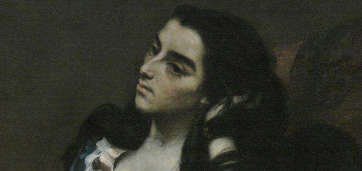 Femme espagnole, 1855 de Gustave Courbet