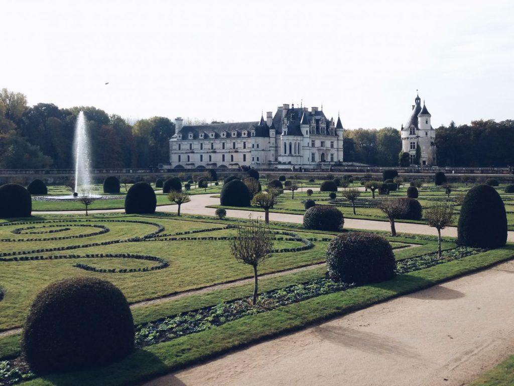 Château depuis le jardin de Diane de Portiers
