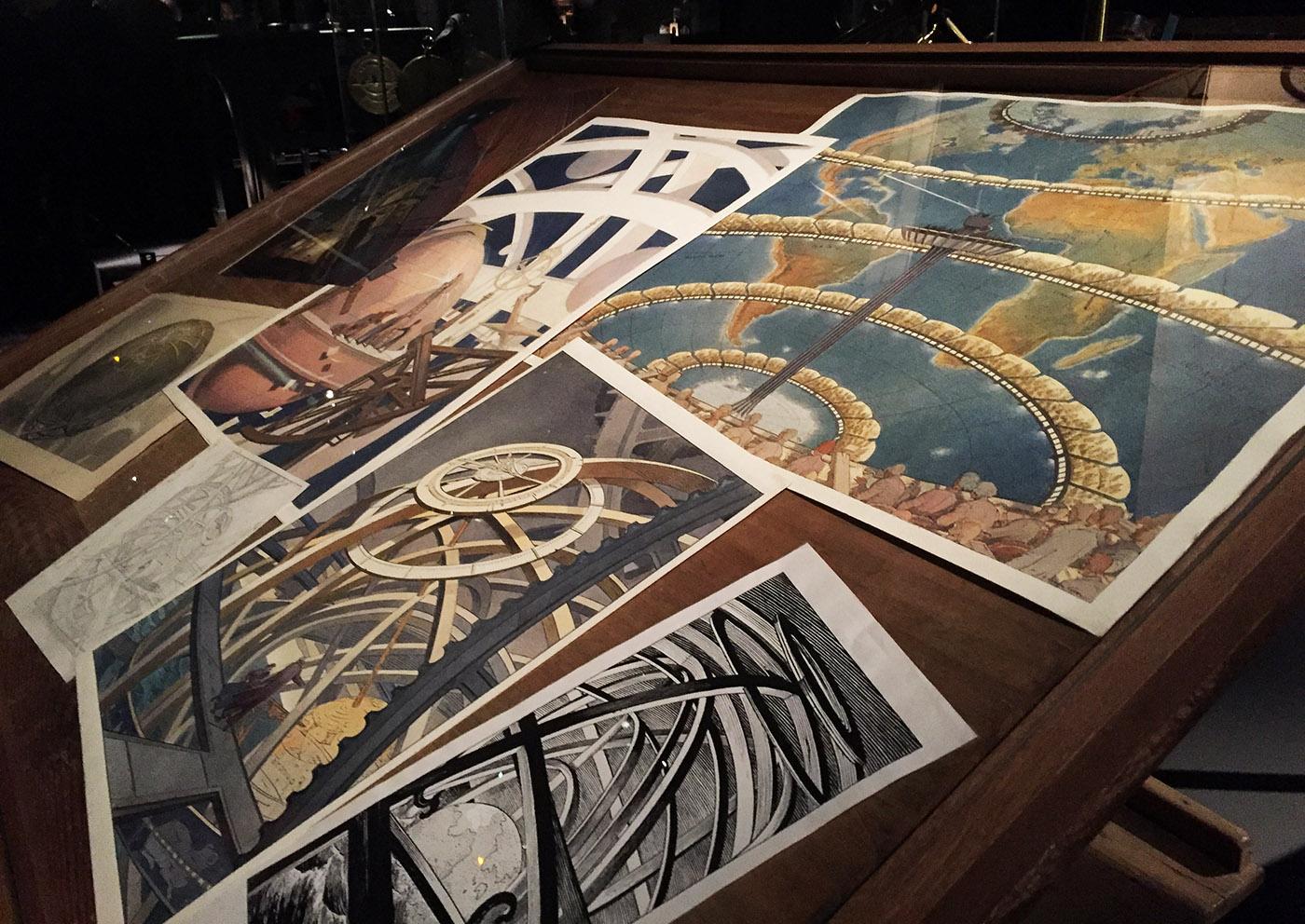 Machines dessiner l 39 exposition du mus e des arts et - Maison arts et metiers ...