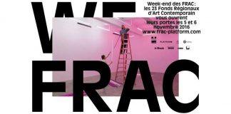 Week-end FRAC 2016