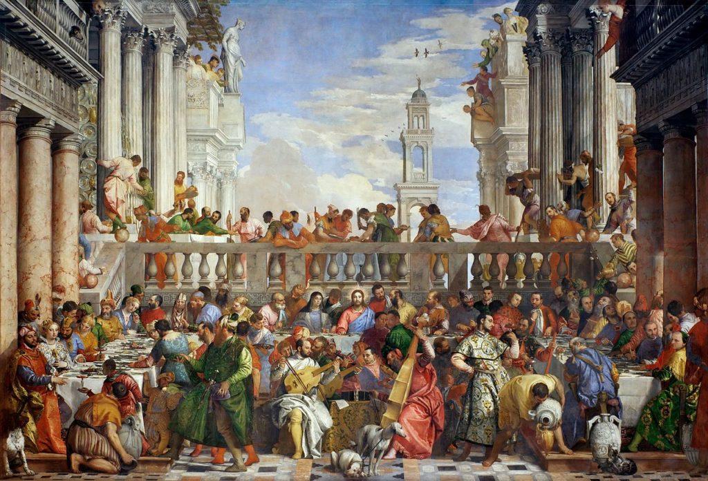 Véronèse, Noces de Cana, Musée du Louvre