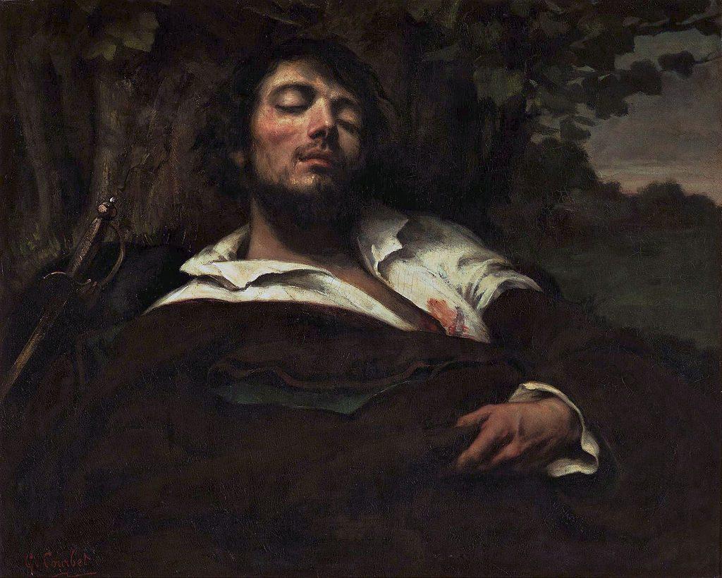 Gustave Courbet, L'homme blessé