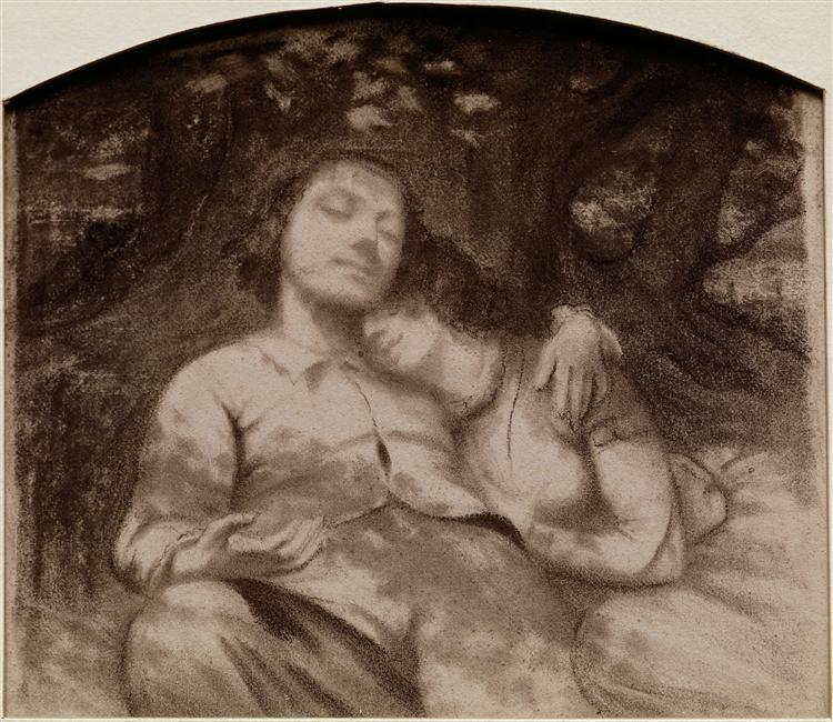 Gustave Courbet, Sieste champêtre