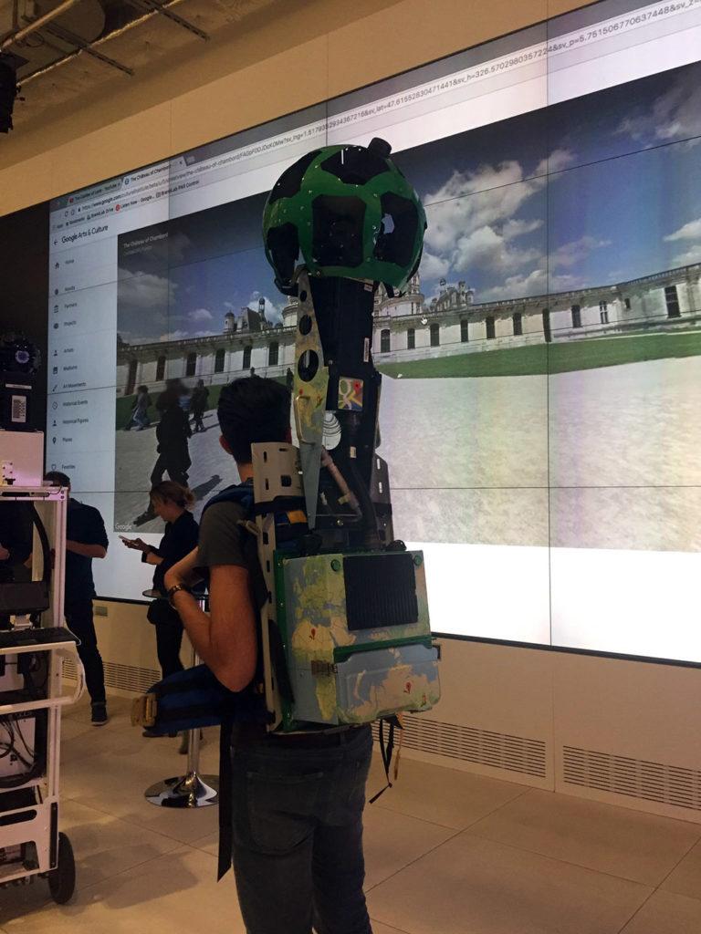 """Les technologies """"Streetview"""" ont été adaptées pour créer des visites virtuelles dans les musées"""