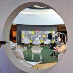 La médiathèque Oscar Niemeyer au Havre