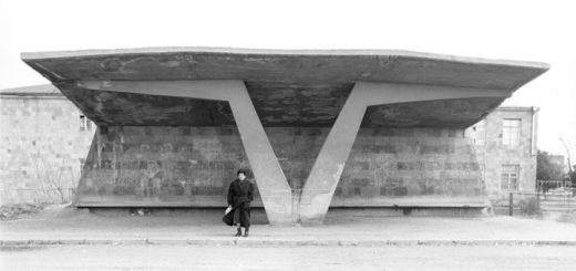 Bus stops. Armenia. 1997 / 2011 Armavir-Yervandashat