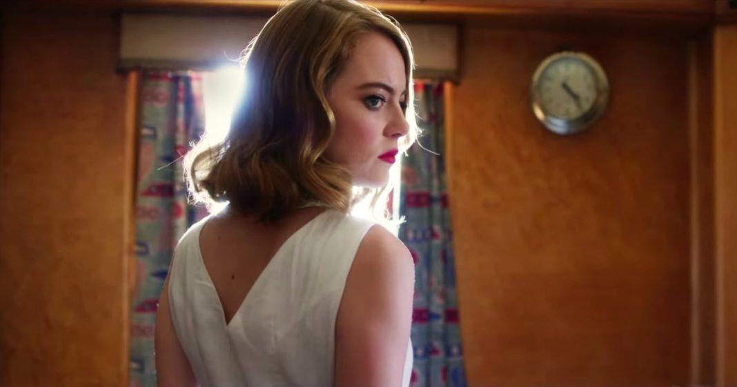 Emma Stone dans le clip