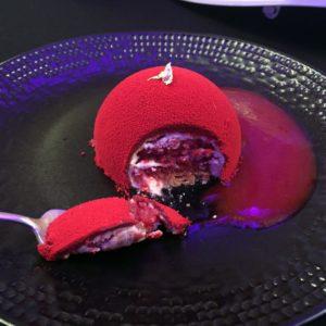 Gâteau Le Favart, collaboration Le Nôtre Opéra Comique