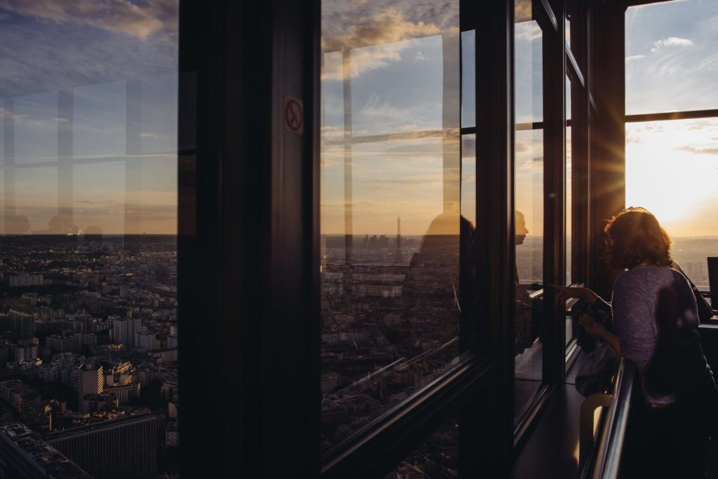 Paris depuis la Tour Montparnasse