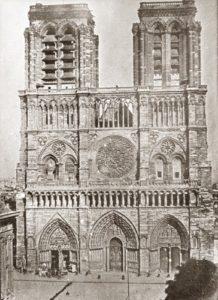 Notre-Dame de Paris en 1840