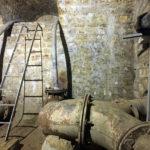 Derrière ce mur, un réservoir de 2000 m3