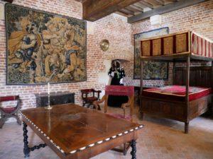 Château du Clos Lucé, Chambre de Léonard de Vinci