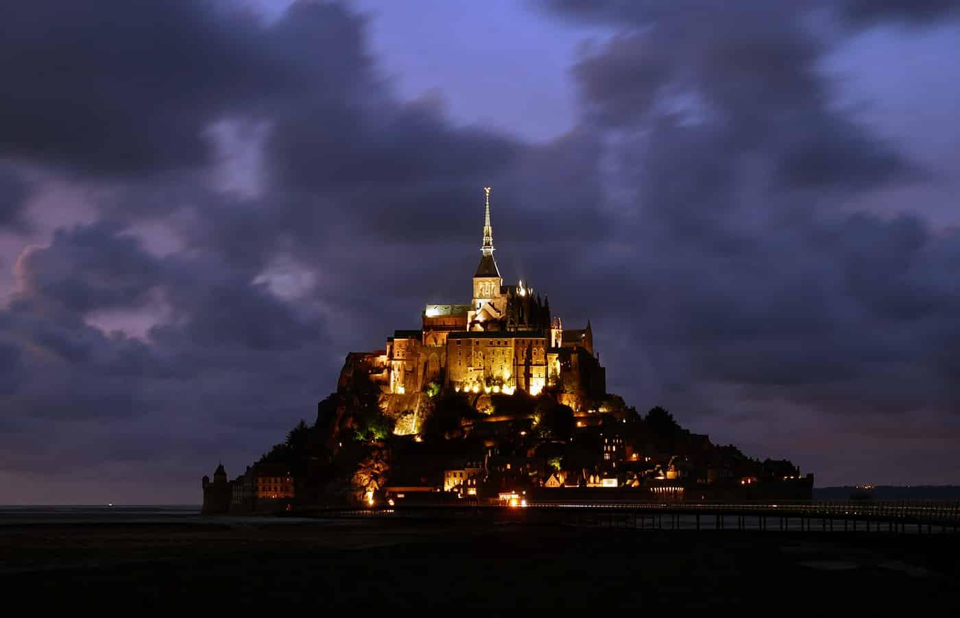 Le Mont St Michel Chantier Restauration