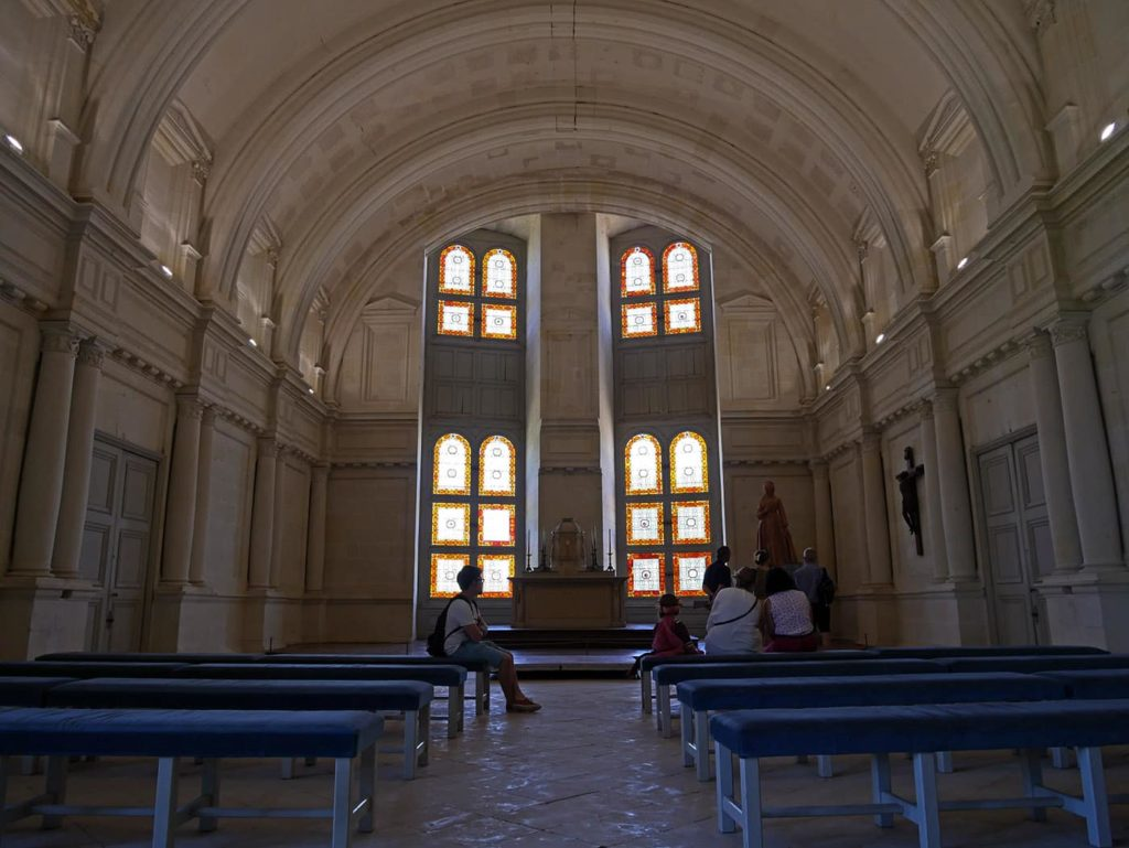 Chapel of the Chambord Castle