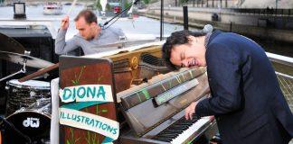 Concert de Jamie Cullum pour Play Me I'm Yours