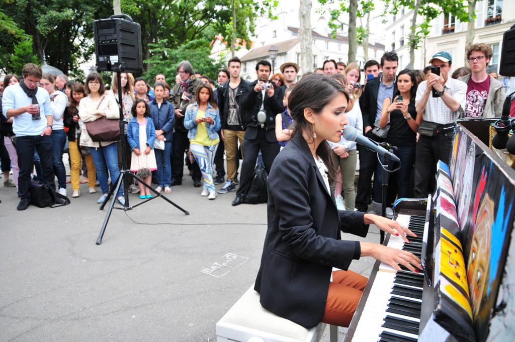 Concert de Joyce Jonathan pour Play Me I'm Yours 2013