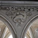 La restauration du cloître du Mont-Saint-Michel