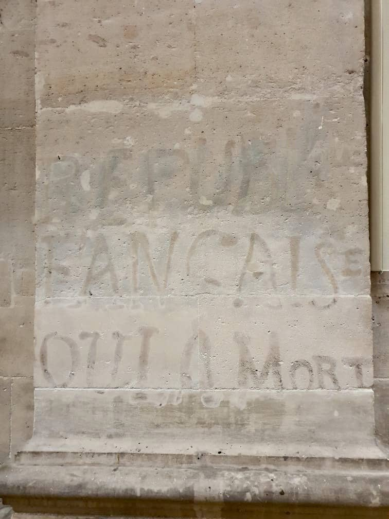 Graffiti de l'église Saint-Paul