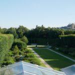 Le jardin vu depuis le musée