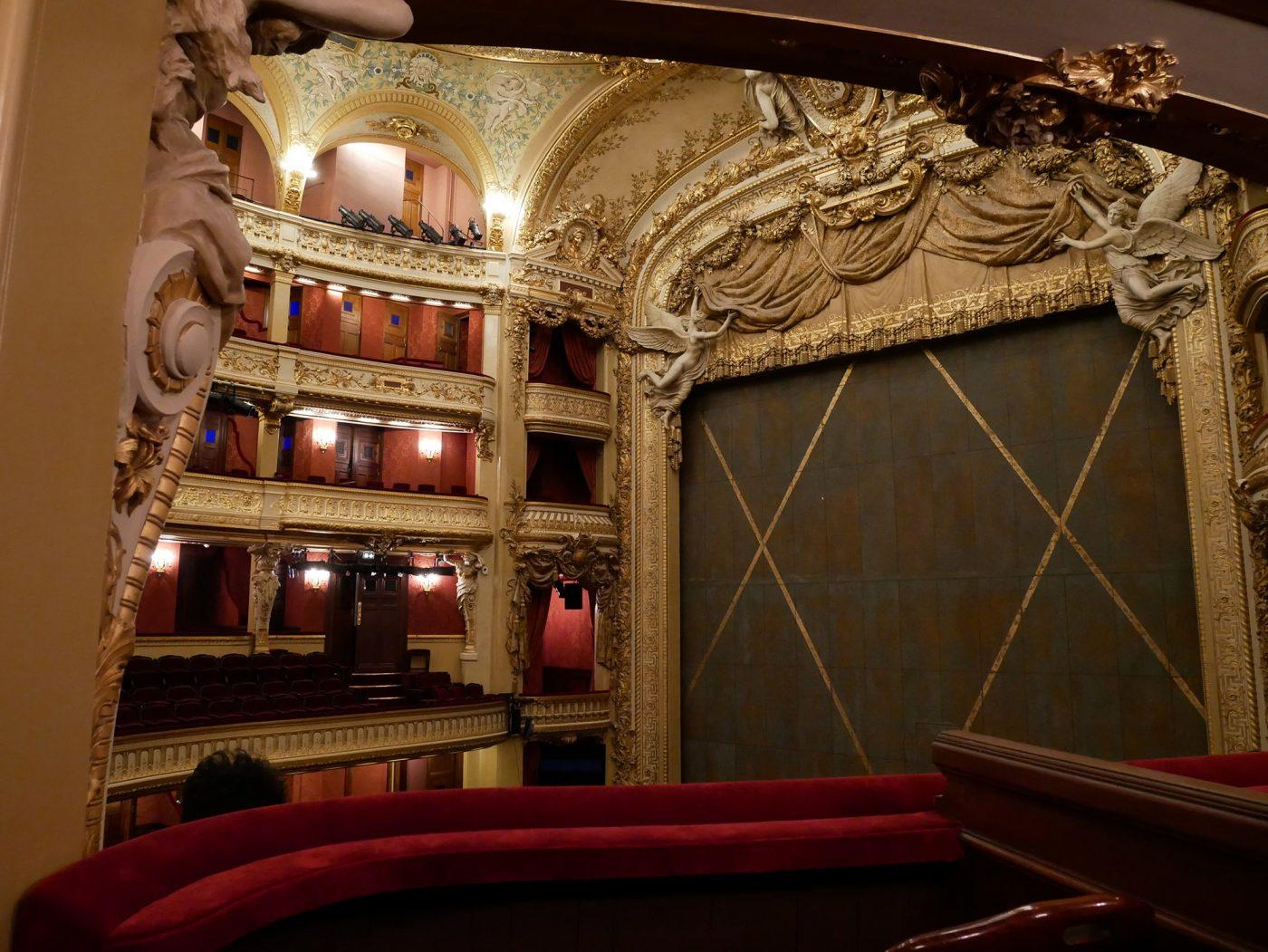Opéra Comique, la salle Favart