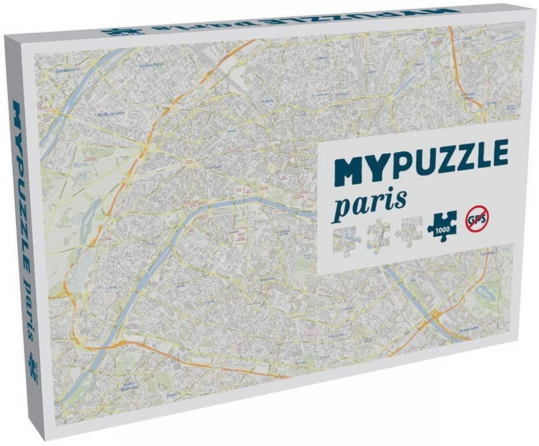 Idée cadeau pour un parisien : un puzzle paris