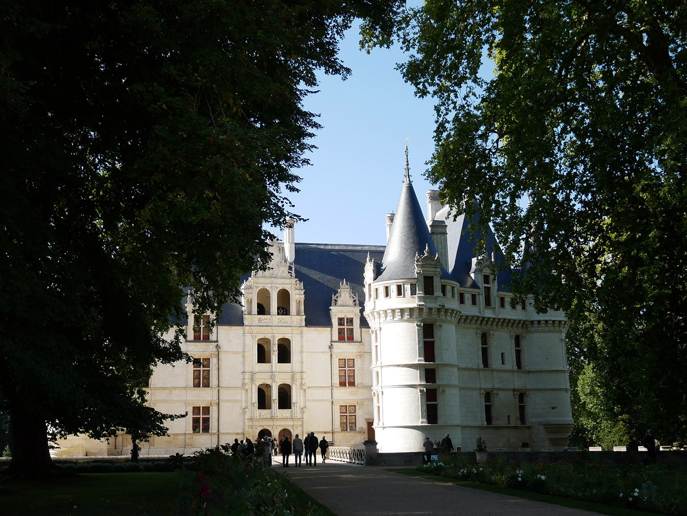 La renaissance du ch teau d azay le rideau - Les jardins renaissance azay le rideau ...