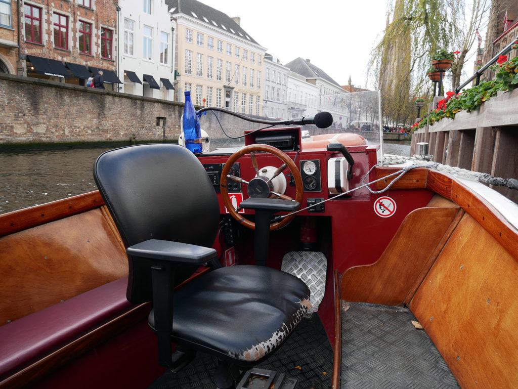 Balade en bateau à Bruges