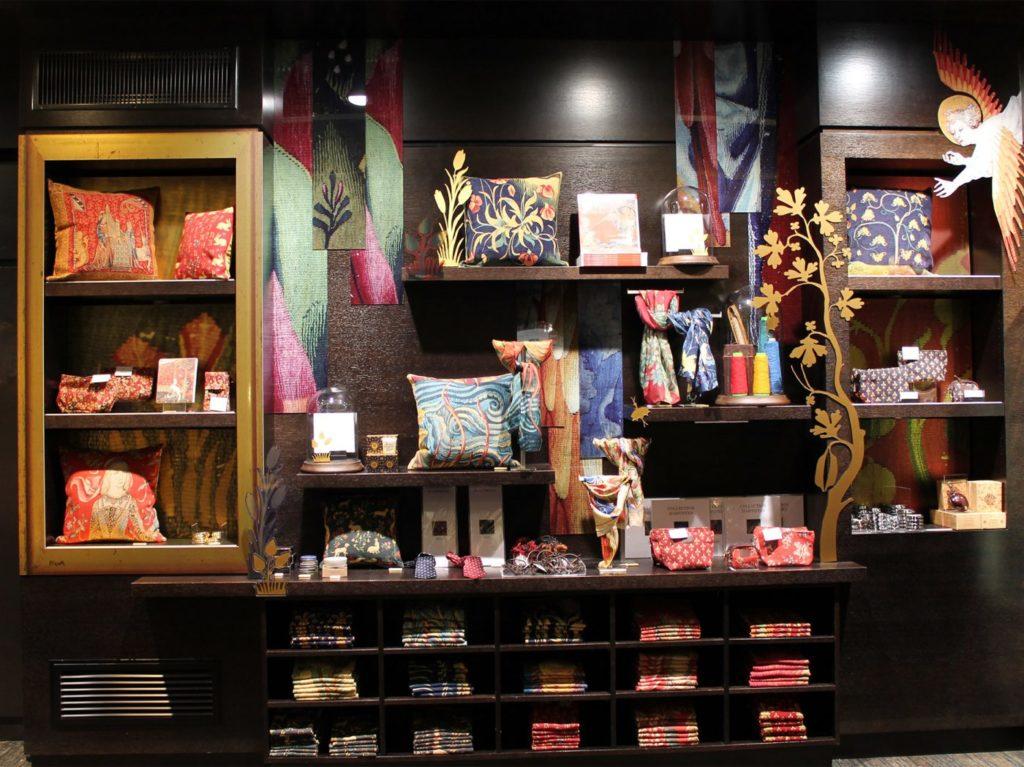 La boutique du château d'Angers © DR
