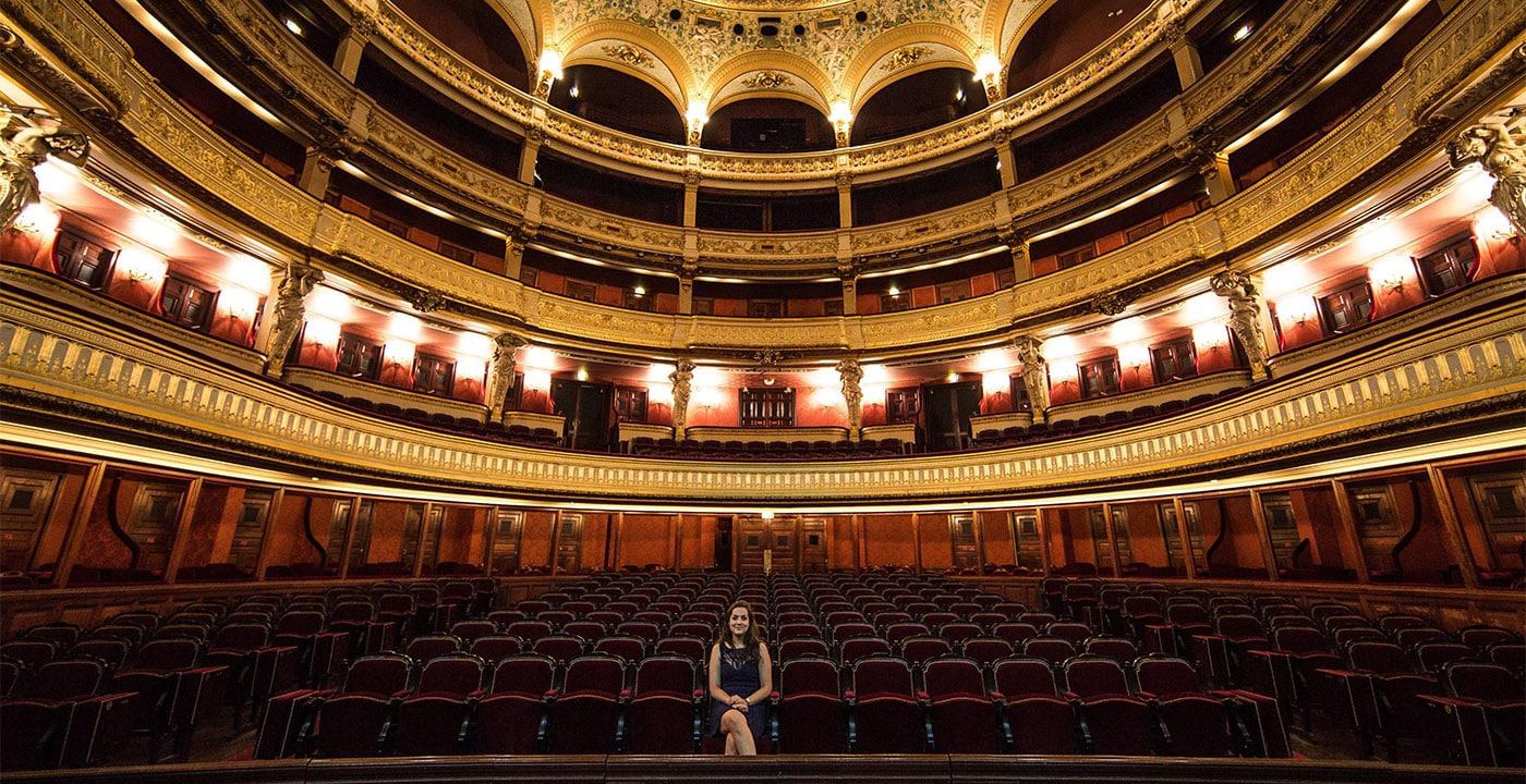 Juliette Tissot-Vidal Opéra Comique