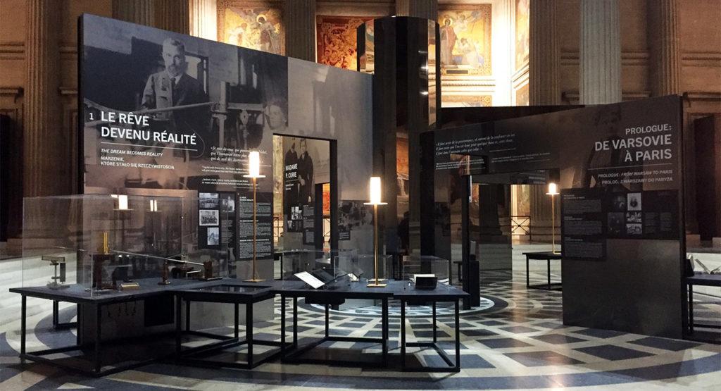 Exposition Marie Curie au Panthéon