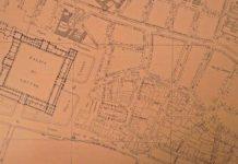 Paris - Extrait du plan de Jacoubet (1836)