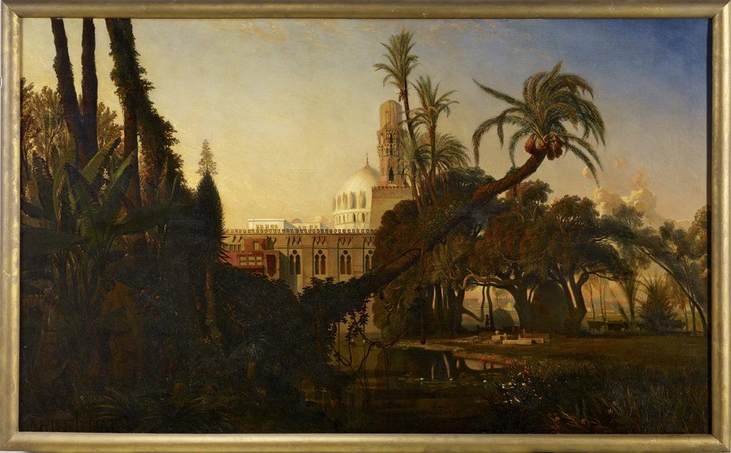 Mosquée dans la Basse Egypte © musée du quai Branly - Jacques Chirac, photo Claude Germain