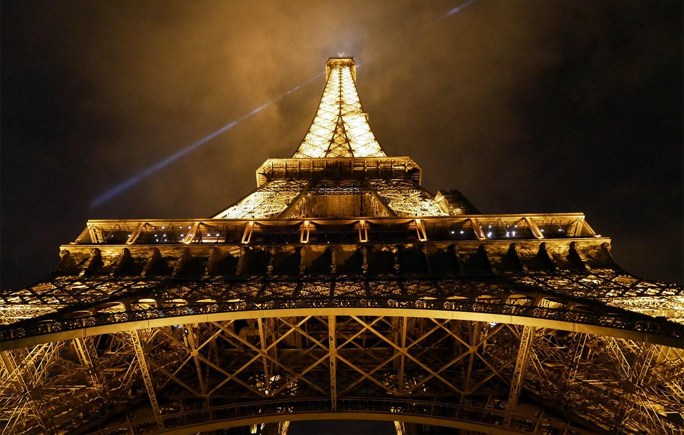 La Tour Eiffel de nuit
