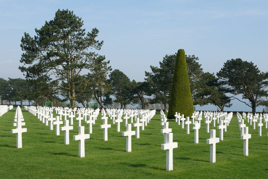 Normandy American Cemetery (Omaha Beach)