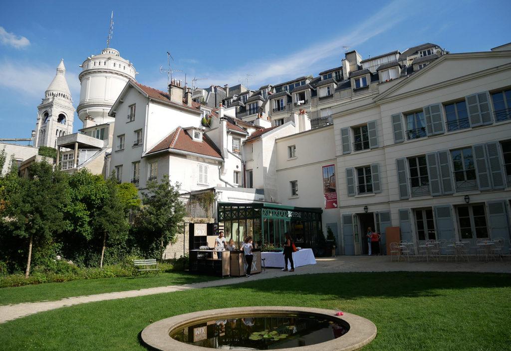 Les jardins Renoir au musée de Montmartre